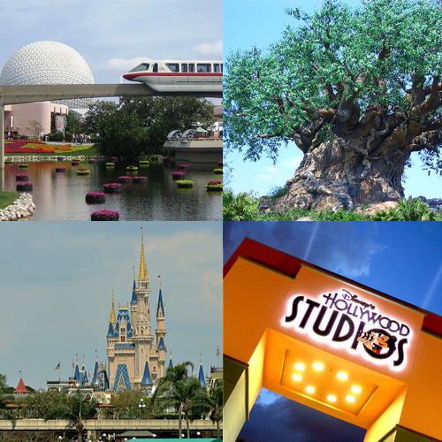 Park Hopping at Disney World