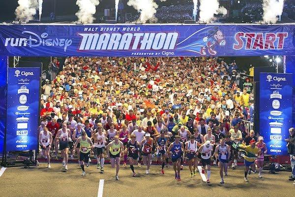 Disney Marathon Start