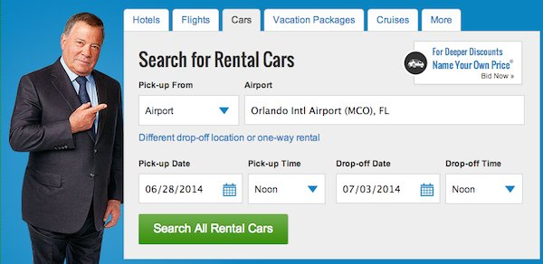 Car Rental Bid Site